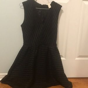 h and m black formal dress